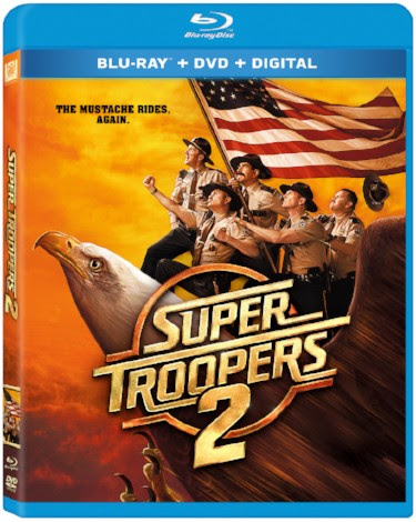 Super Troopers 2 on Blu-Ray and DVD July 17
