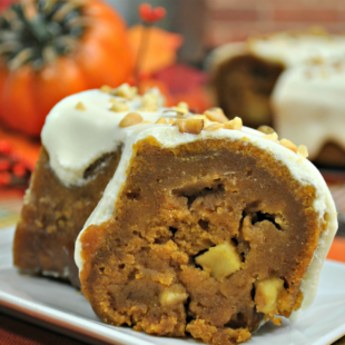 Pressure Cooker Apple Pumpkin Bundt Cake