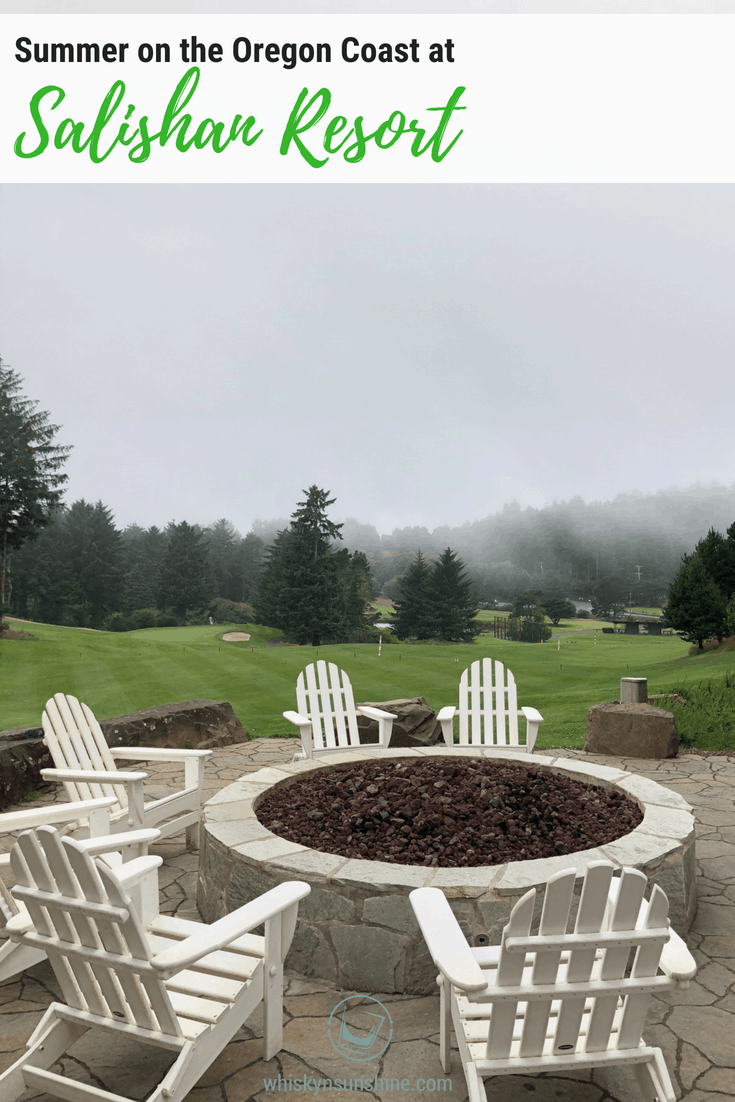 Summer at Salishan Resort on the Oregon Coast