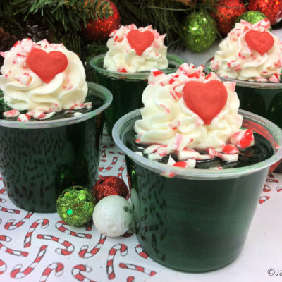 Grinch Jello Shots