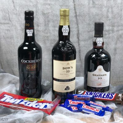 How to Pair Halloween Candy with Port