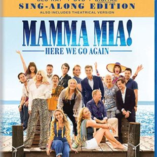 Mamma Mia! Here We Go Again on Blu-Ray Combo Pack