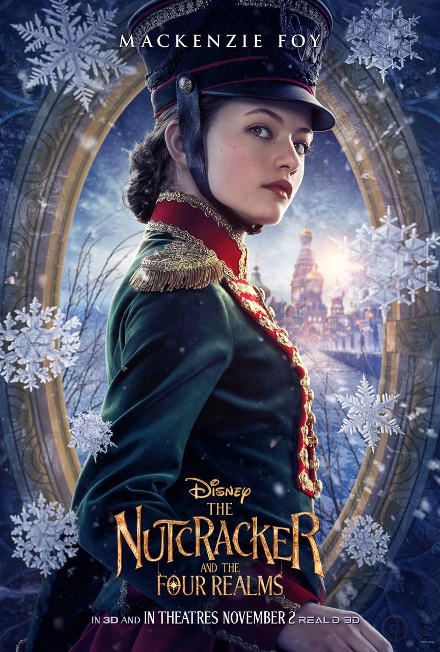 Disney'sTheNutcrackerand the Four Realms - Clara poster