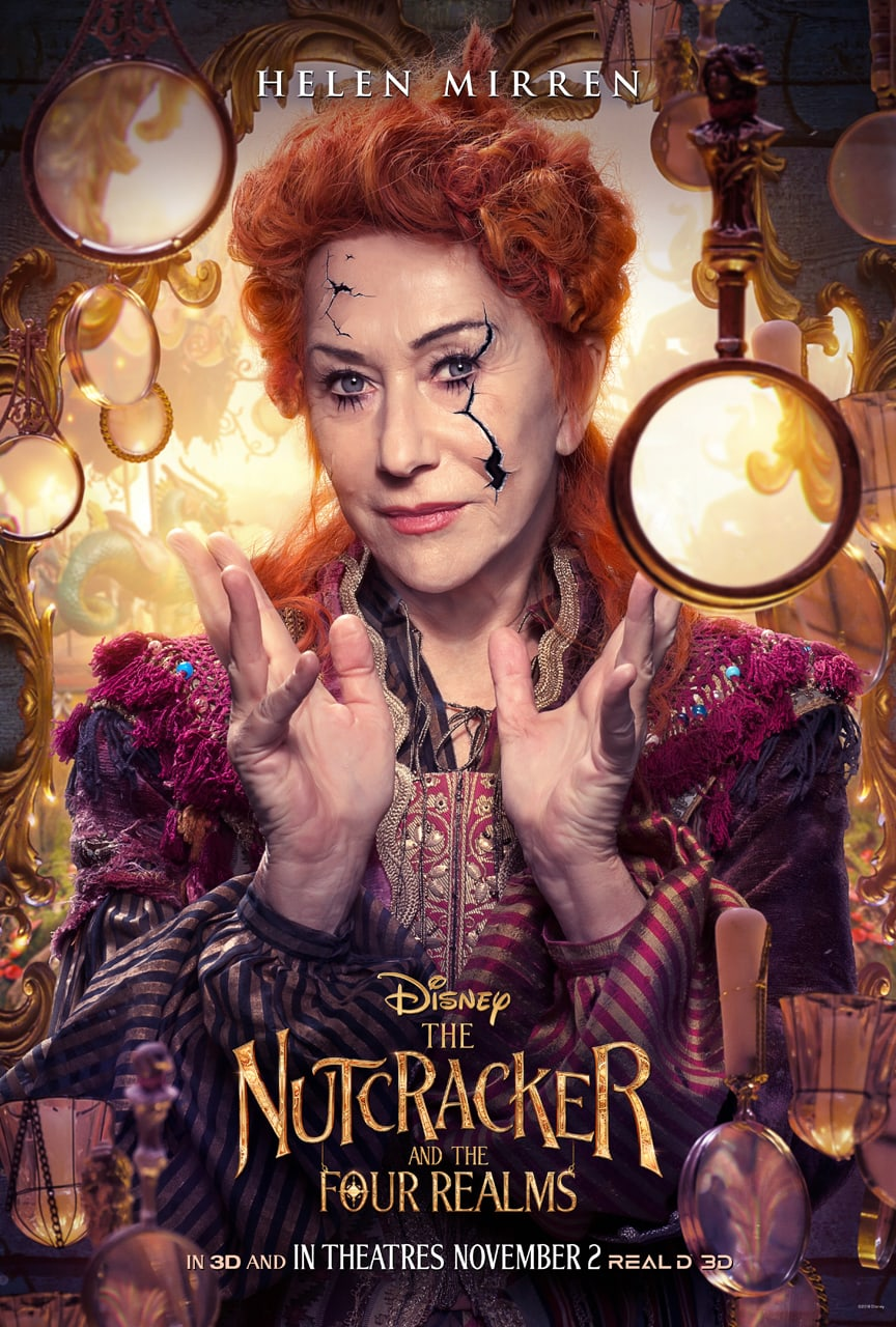 Disney's The Nutcracker and the Four Realms - Mother Ginger poster