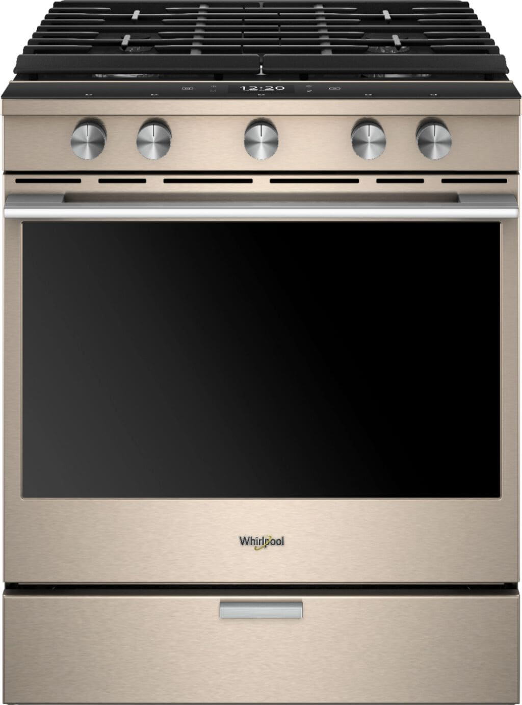 Whirlpool Sunset Bronze Gas Convection Range