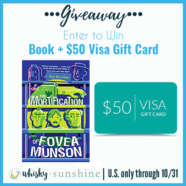 The Mortification of Fovea Munson + $50 Gift Card Giveaway button