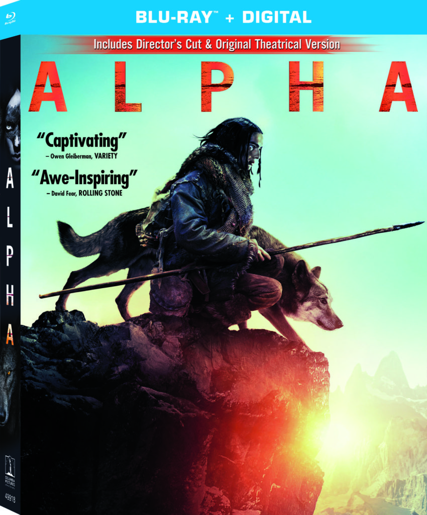 Alpha on Blu-Ray and DVD