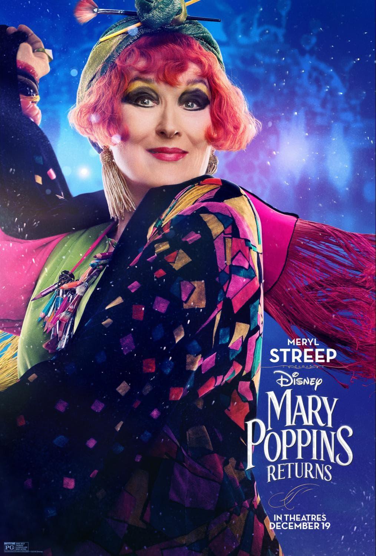 Mary Poppins Returns Meryl Streep