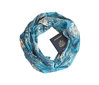 The Speakeasy Travel Scarf