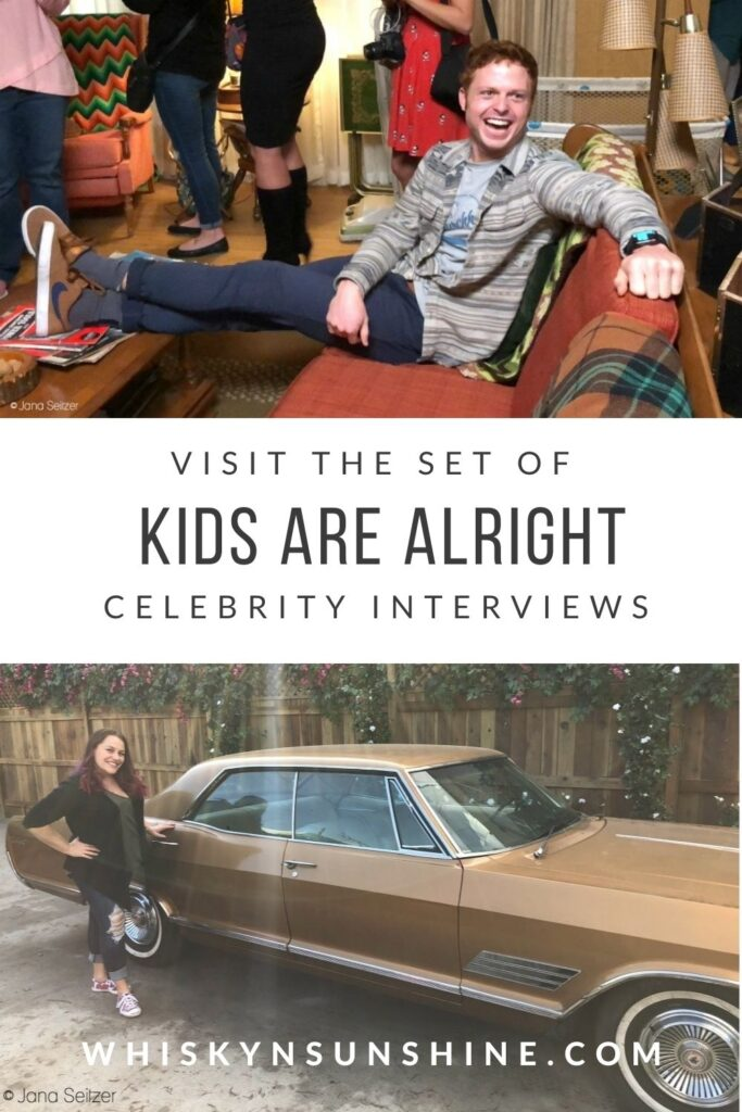 VISIT THE SET OF THE KIDS ARE ALRIGHT