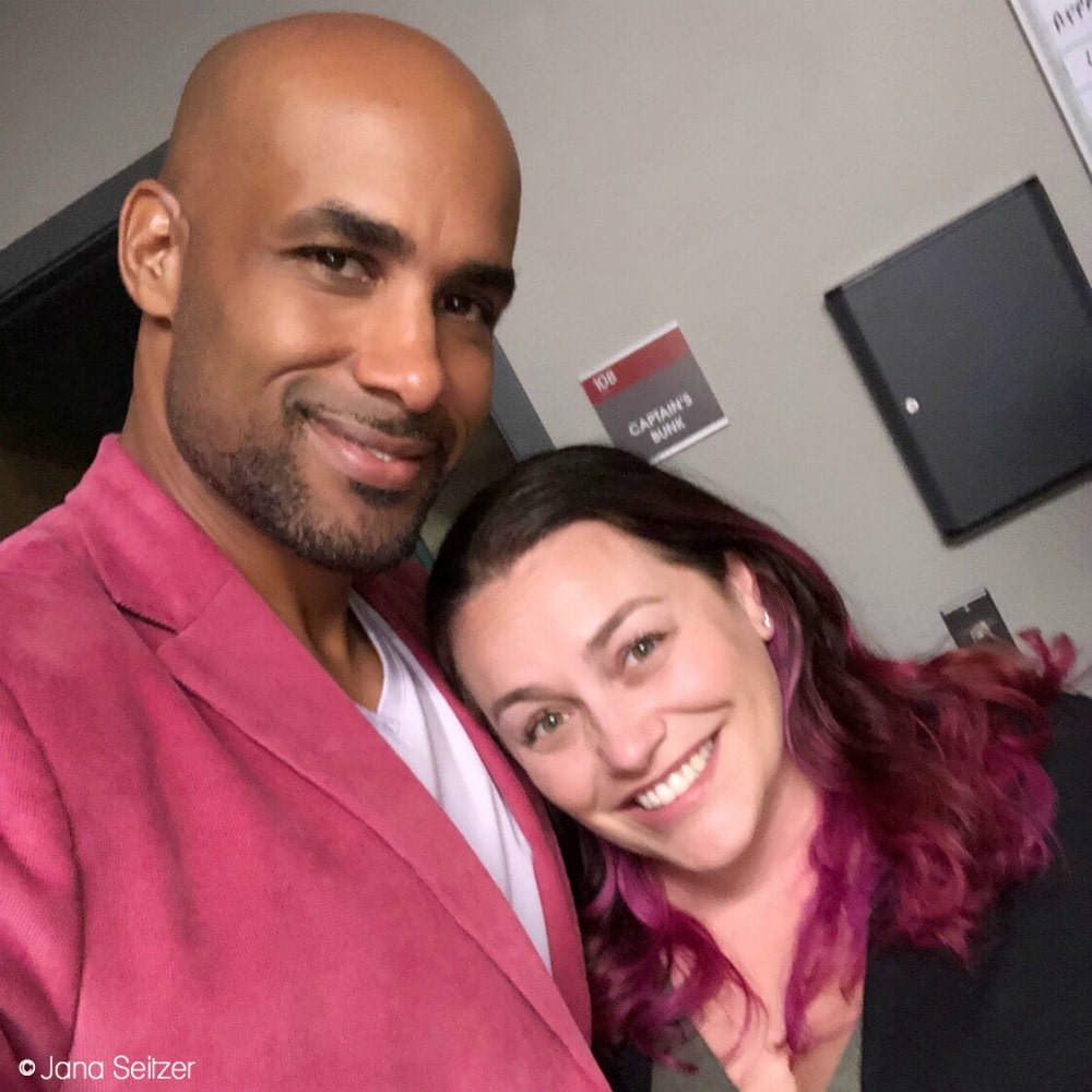 Visit the Set of Station 19 - with Boris Kodjoe