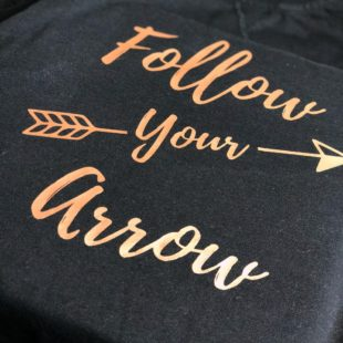DIY Follow Your Arrow Shirt