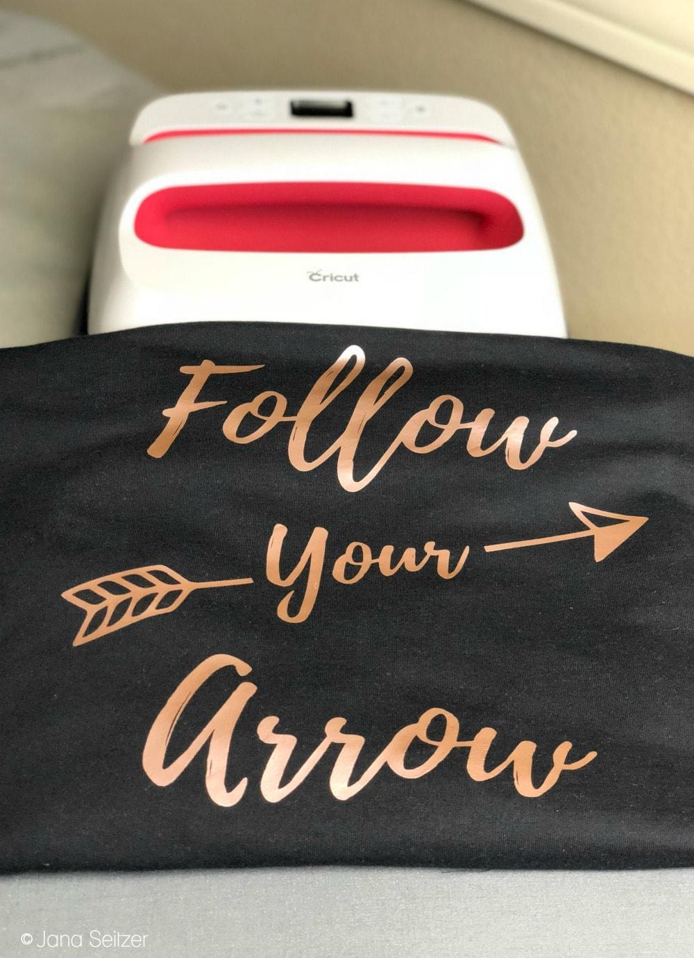DIY Follow Your Arrow Shirt