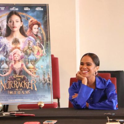 Misty Copeland on Bringing Ballet to the Masses – Nutcracker and the Four Realms