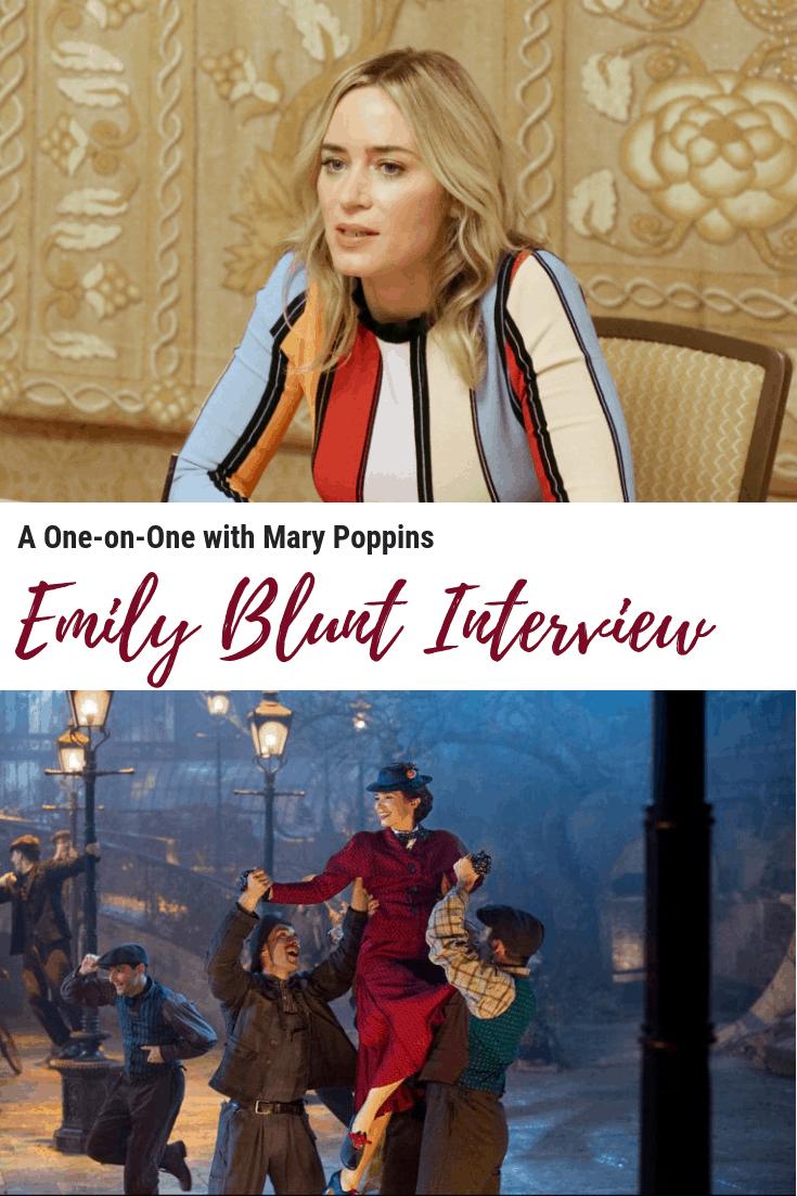 Emily Blunt Interview