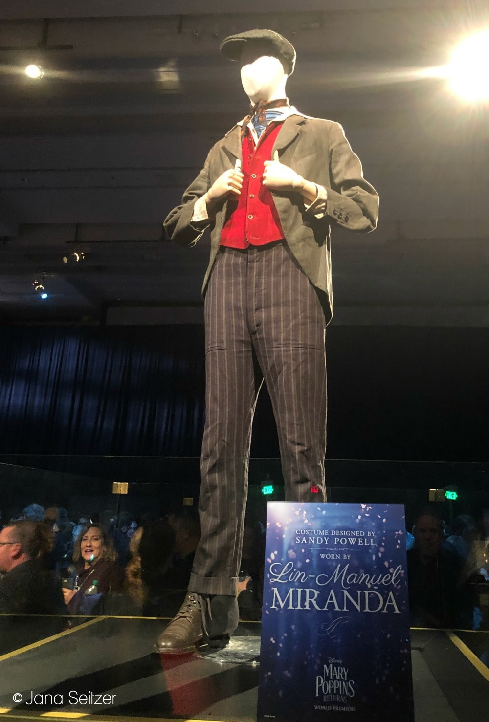 Mary Poppins Returns Red Carpet Premiere Jack's costume