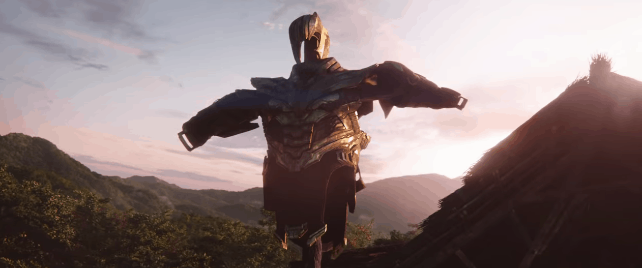 Avengers 4 End Game scarecrow