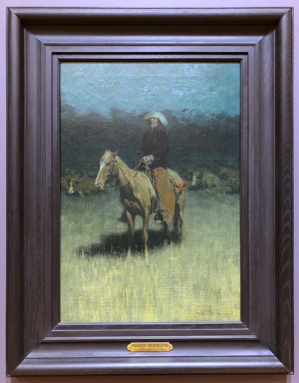 Art in Bentonville, Arkansas - Crystal Bridges Museum Fredric Remington