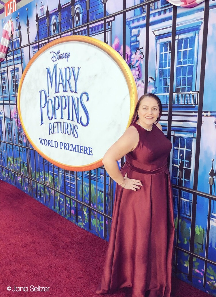 mary poppins returns red carpet 1