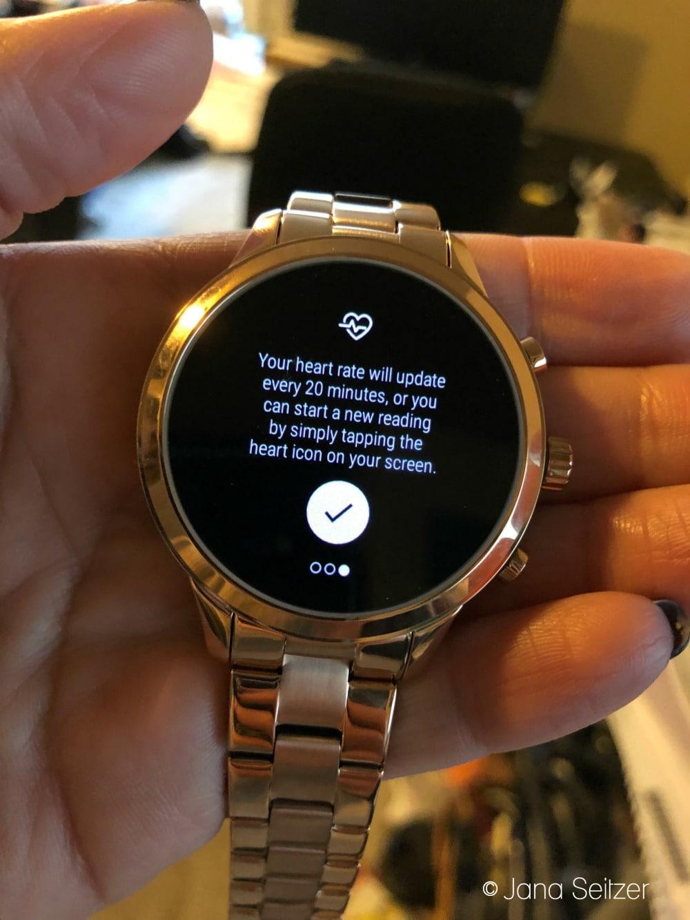 Wear OS by Google + Michael Kors Access Runway Smartwatch