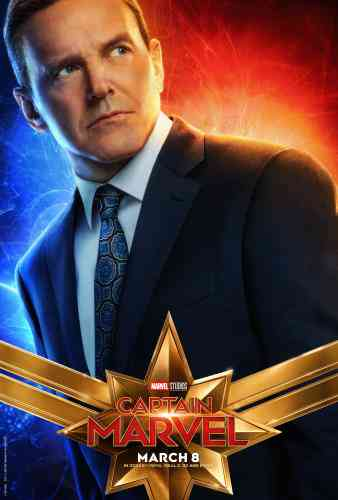 Captain MarvelCharacter Poster - Coulson