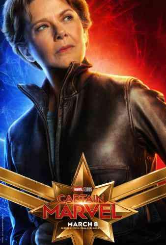 Captain MarvelCharacter Poster - Annette Bening
