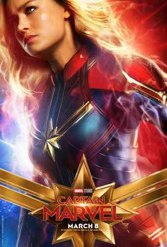 Captain MarvelCharacter Poster - Brie Larson