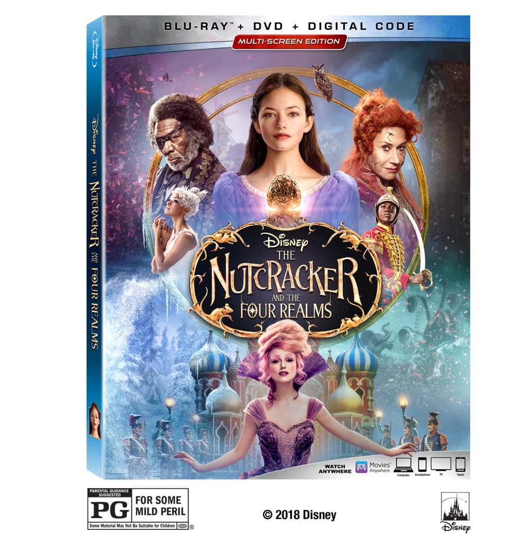 Disney's The Nutcracker and the Four Realms Arrives on Digital and on Blu-ray Jan. 29