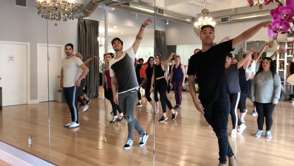 DWTS Dance Lesson