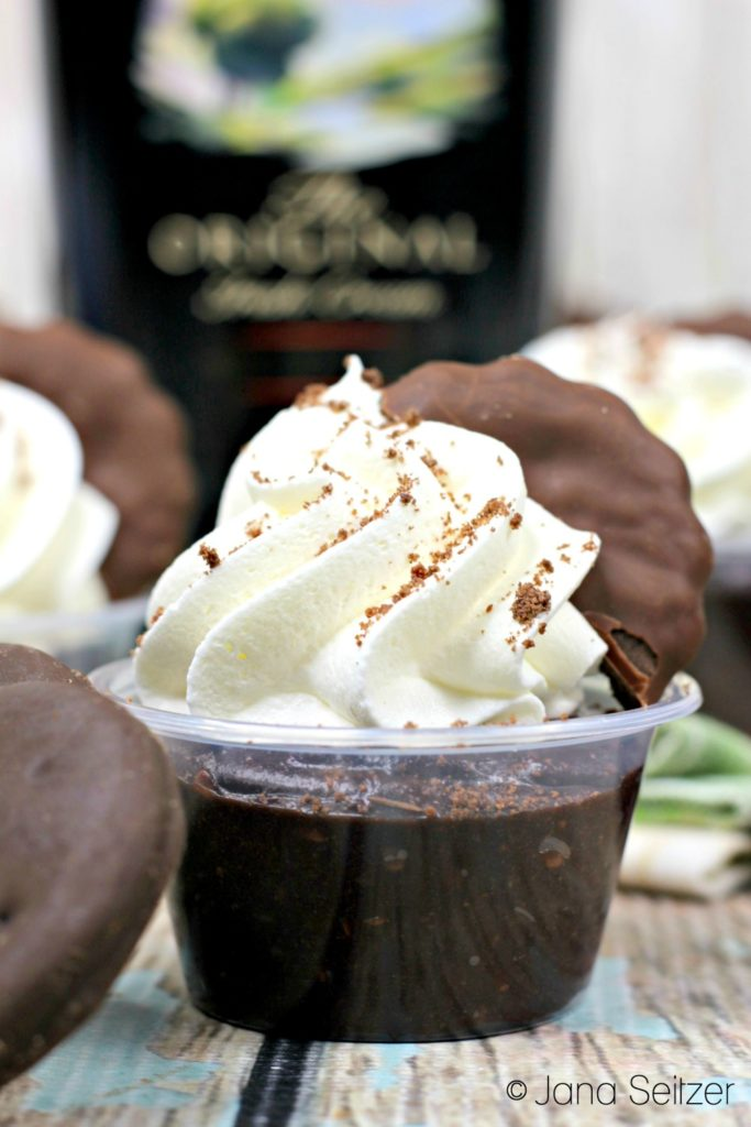 Naughty Girl Scout Pudding Shots