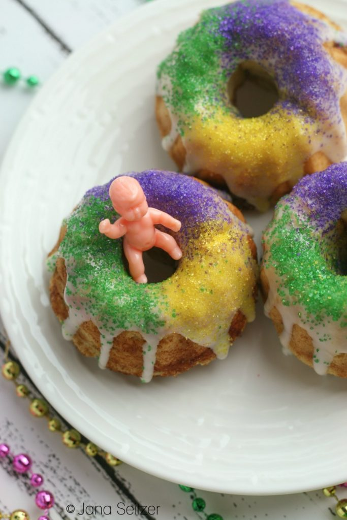 Mini Gluten Free King Cakes