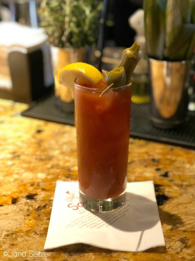 Bloody Mary SoBu at the W Hotel in New Orleans