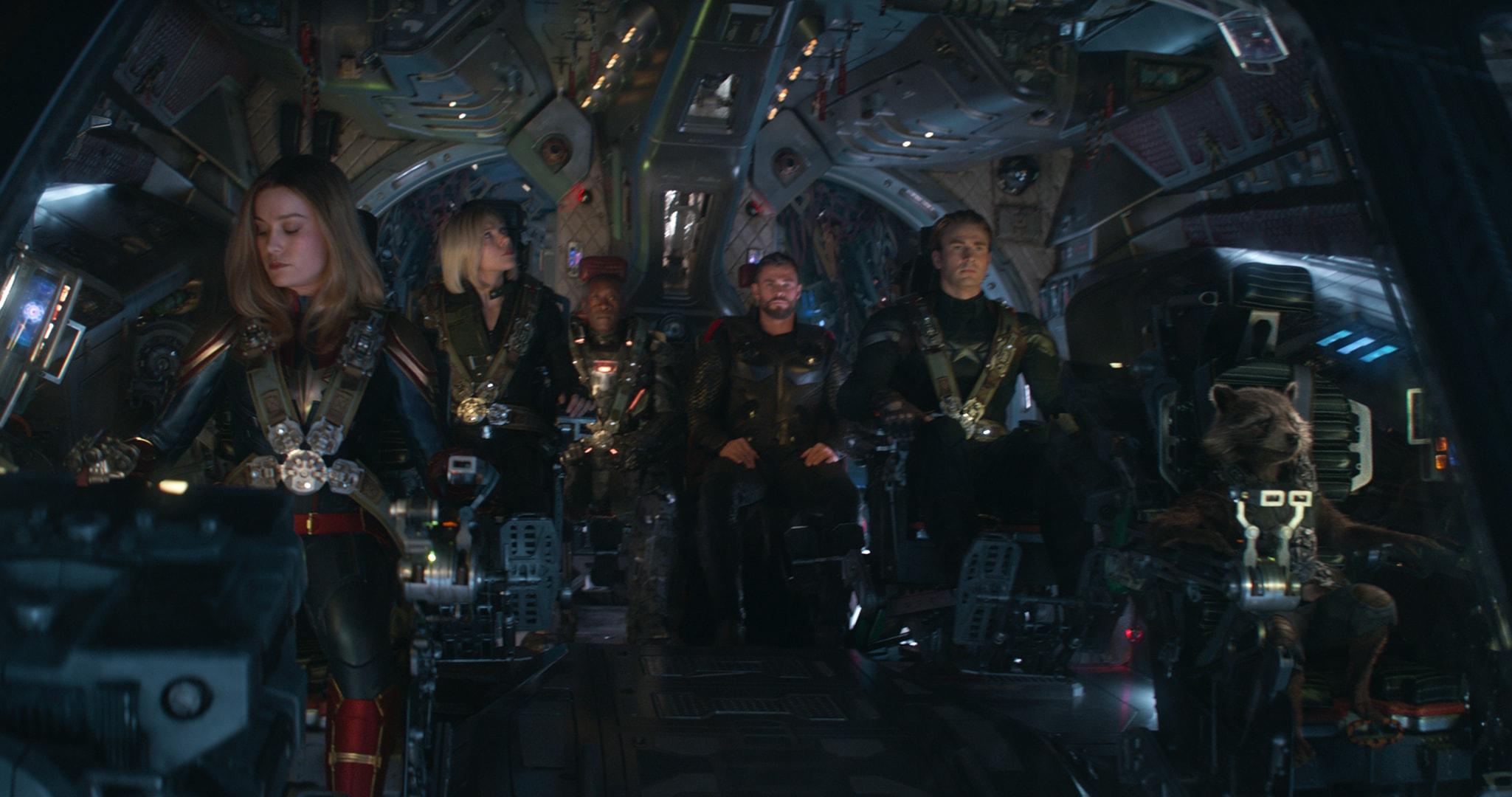 Avengers Endgame ship