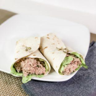 Tuna Salad Wraps with Hidden Valley Ranch