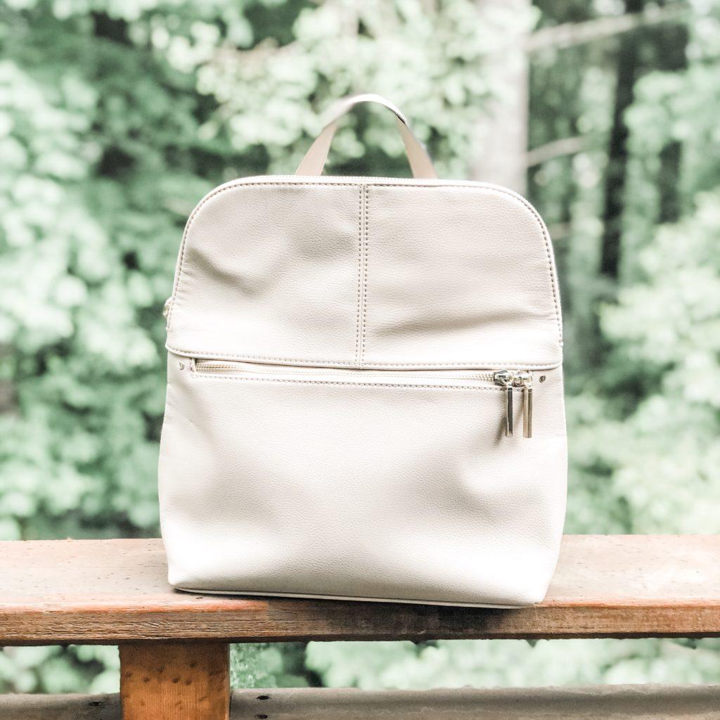 Dara Zipper Detail Backpack by Market & Spruce