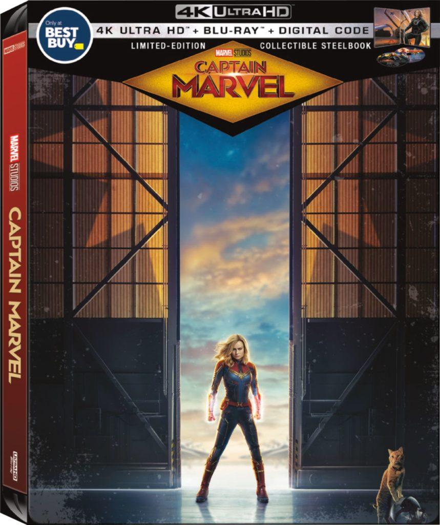 Captain Marvel Collectible SteelBook