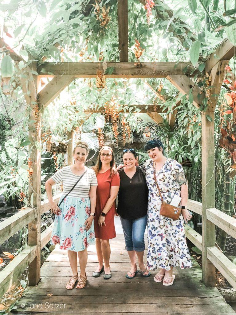 myriad gardens group photo