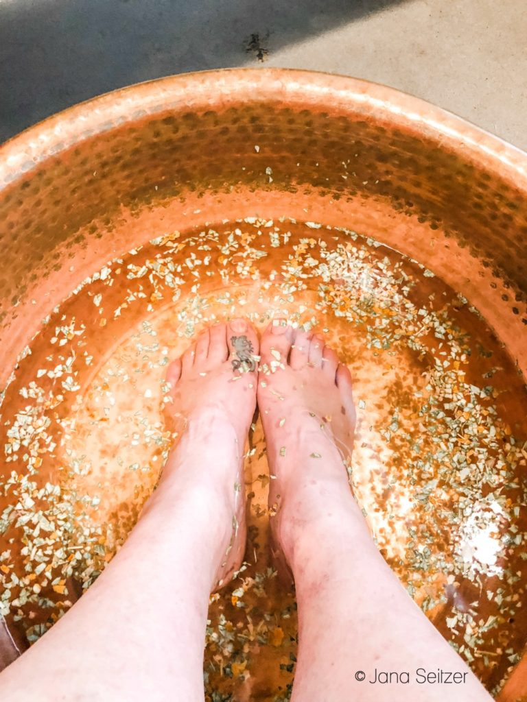 udander foot soak