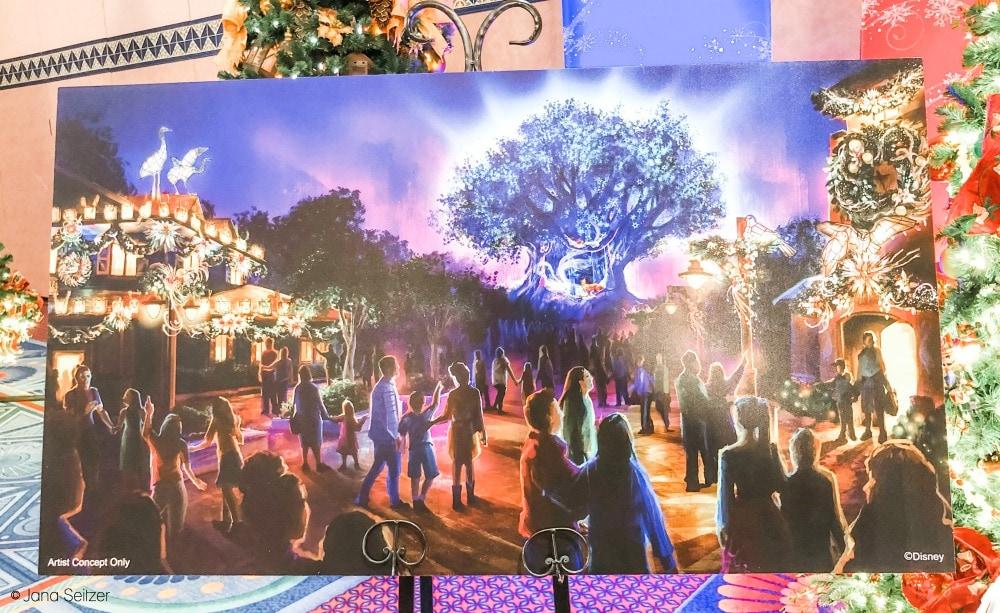 2019 disney holidays tree of life