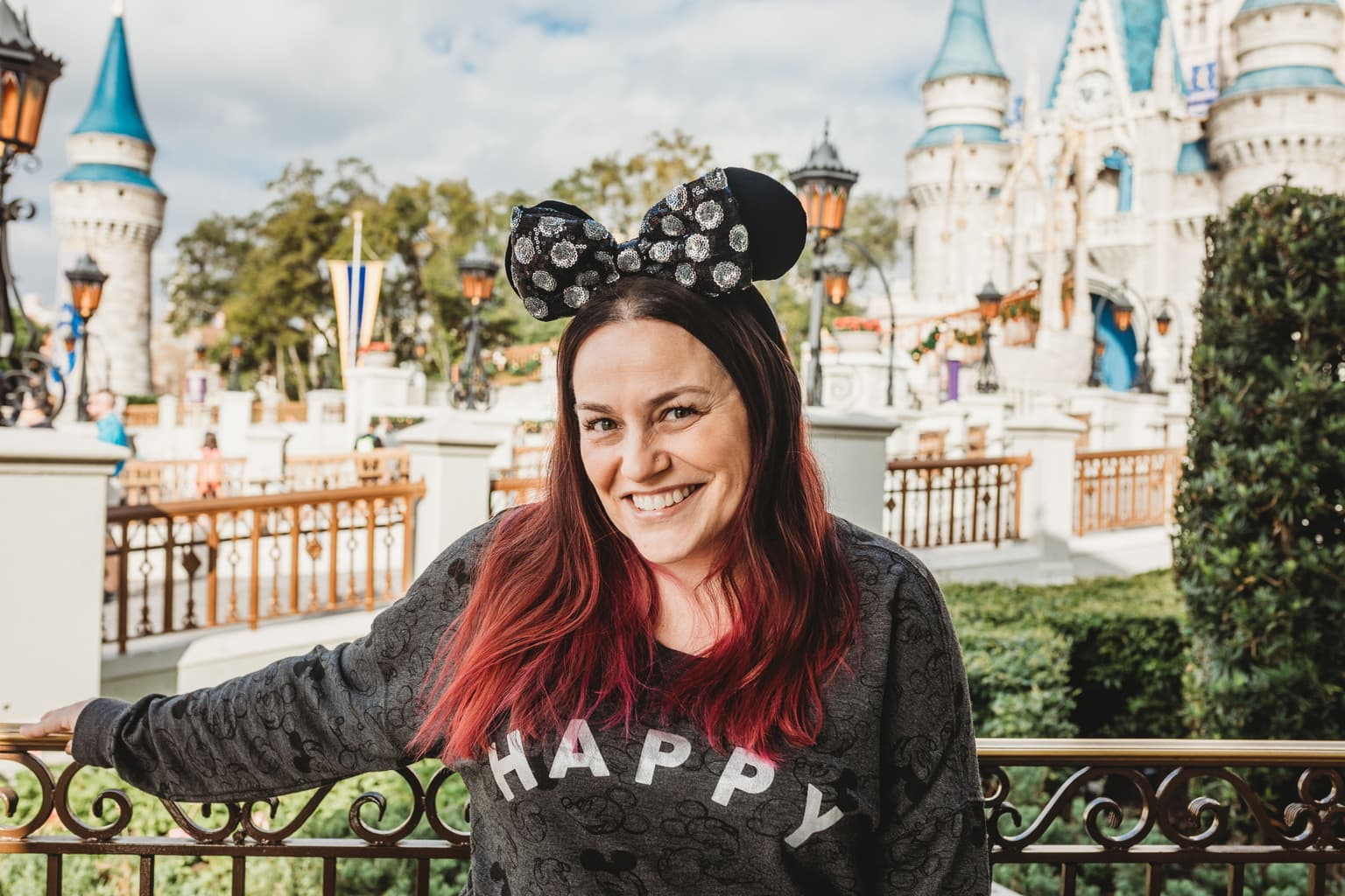Jana at Disney World