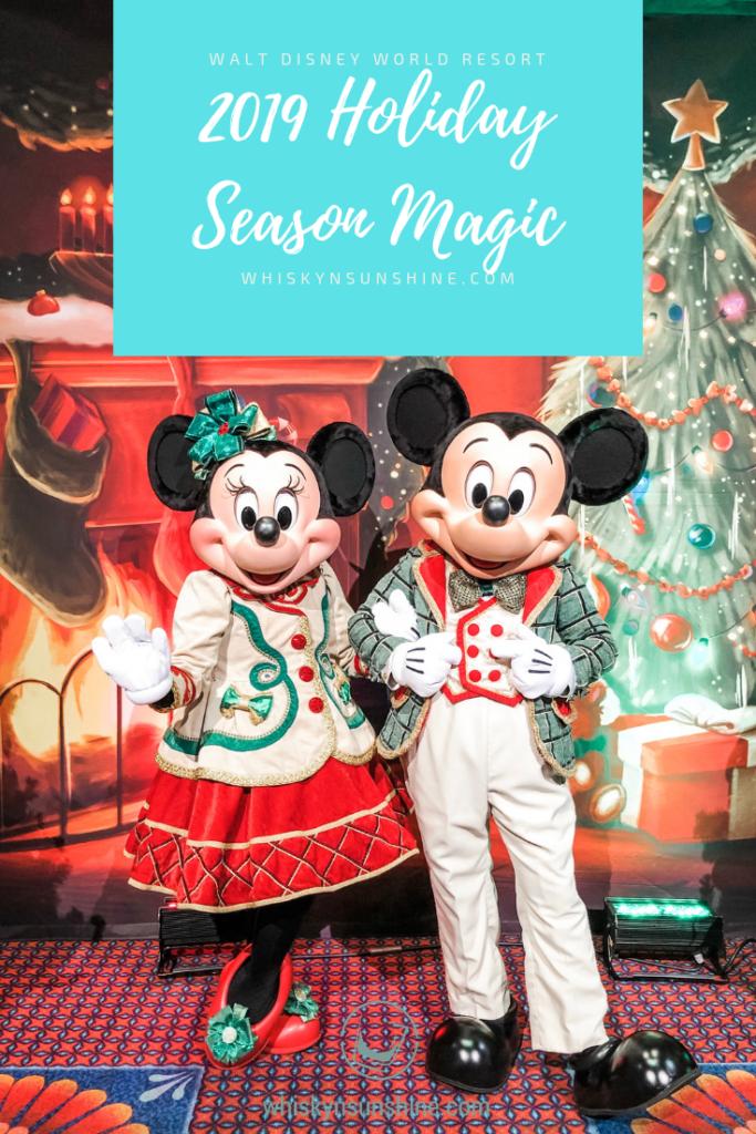New Holiday Magic at Walt Disney World Resort 2019 Holiday Season