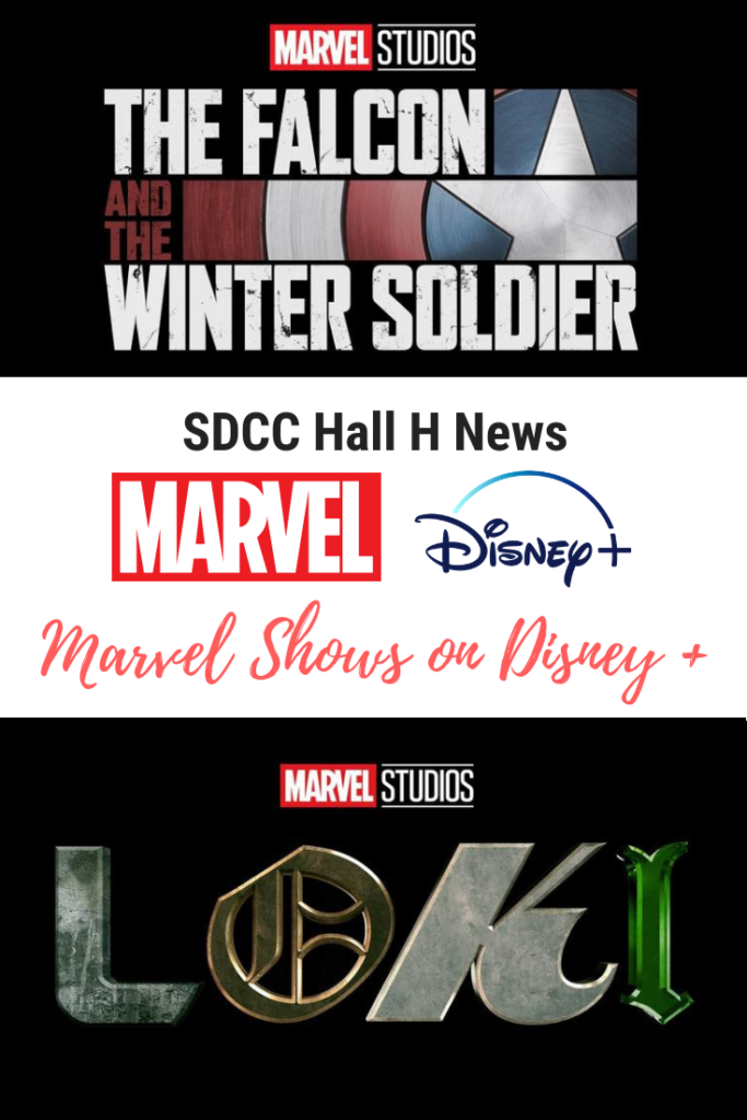 SDCC 2019 Hall H News Marvel Studios Disney Plus shows