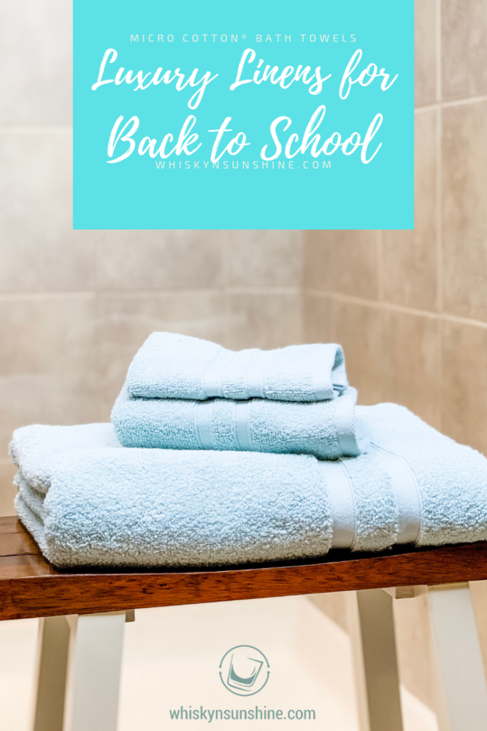 luxury linens for back to school
