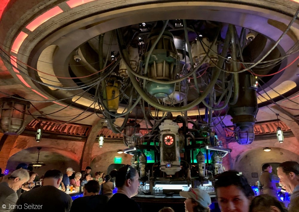 Oga's Cantina at Star Wars Galaxy's Edge