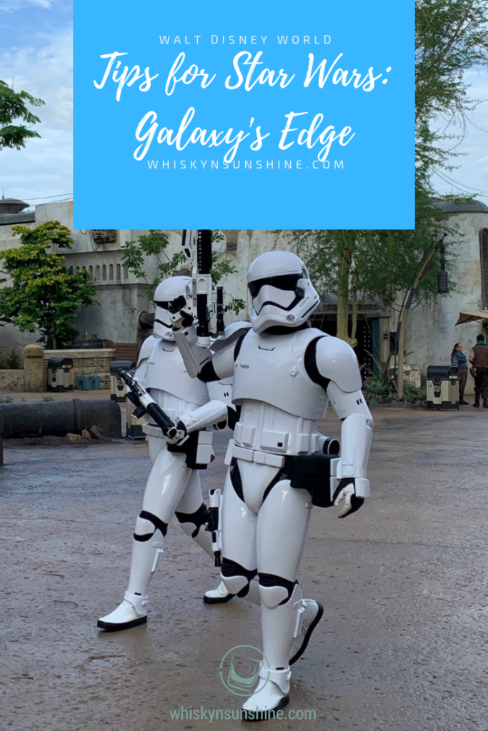 stormtroopers at star wars galaxy's edge