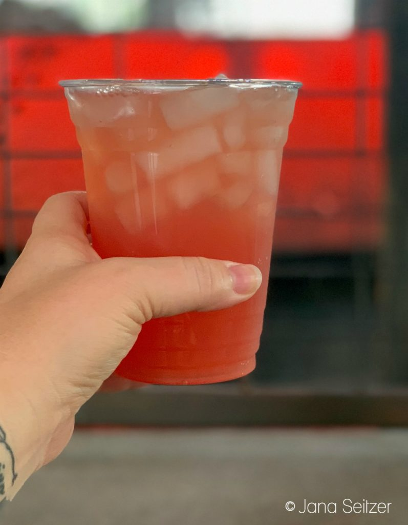 Coruscant Cooler at Ronto Roasters in Star Wars: Galaxy's Edge