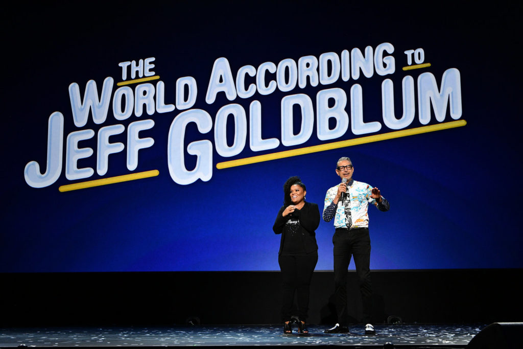 YVETTE NICOLE BROWN, JEFF GOLDBLUM