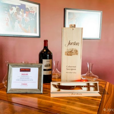 Jordan Wine Dinner Featuring Jordan Winery at Michael Jordan's Steakhouse at Ilani