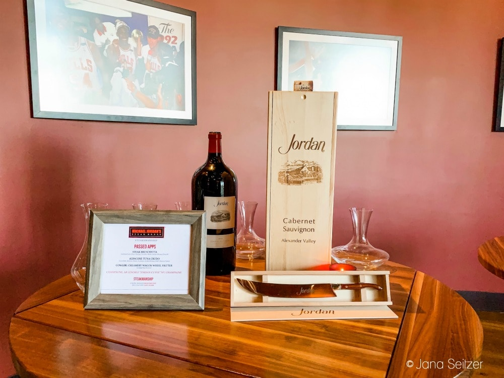 Jordan Wine Dinner Featuring Jordan Winery at Michael Jordan's Steakhouse at Ilani 3