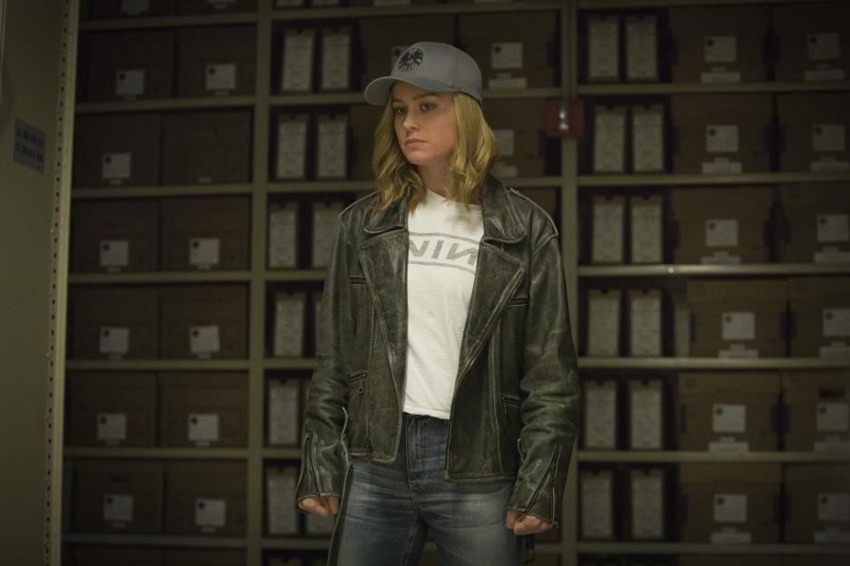 Captain Marvel grunge outfit